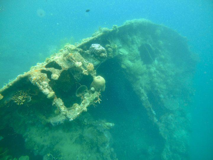 Lusong Gunboat Shipwreck Coron Palawan Philippines Travel Blog