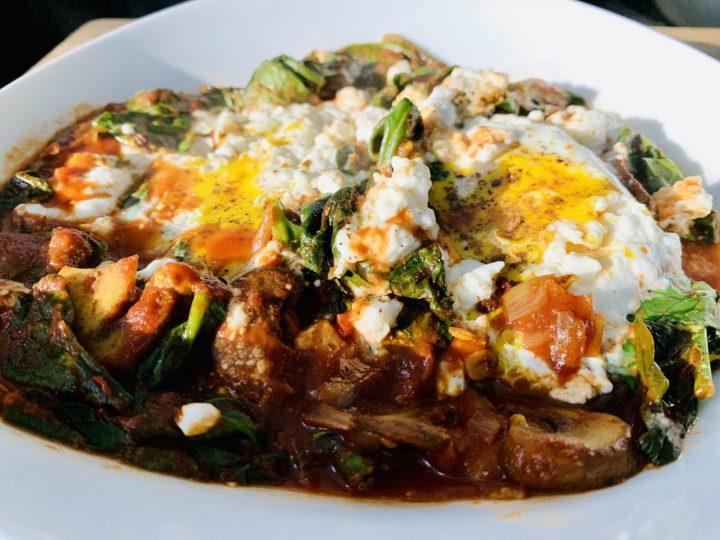 Shakshuka Plate for dinner Food recipe and inspiraitons