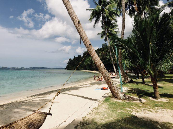 White Beach Hammock Port Barton Palawan Philippines Travel Blog