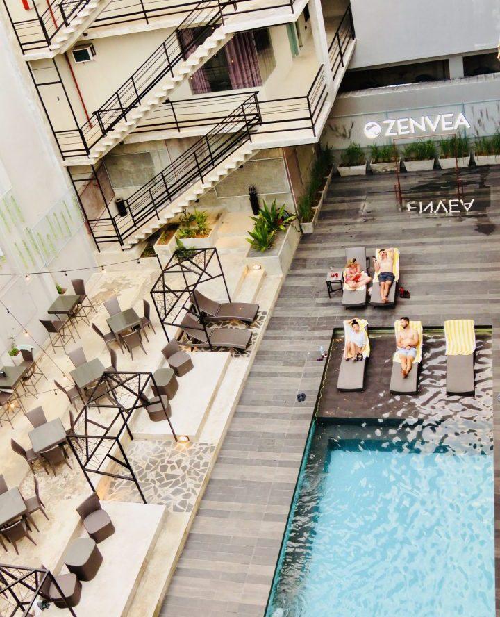 Zenvea Hotel rooftop view Coron Palawan Philippines Travel Blog
