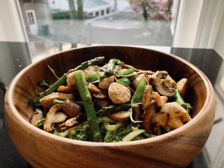 Zucchini Spaghetti Bowl Dinner Food Recipe Inspirations