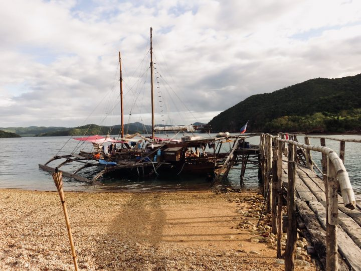 Boat Pucoy Island TAO Experience Palawan Philippines Travel Blog