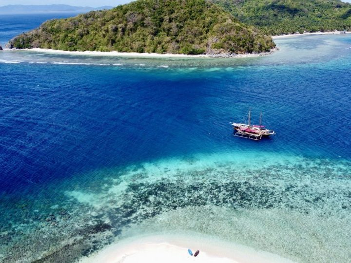 Drone Tacling Island TAO Experience Philippines Travel Blog