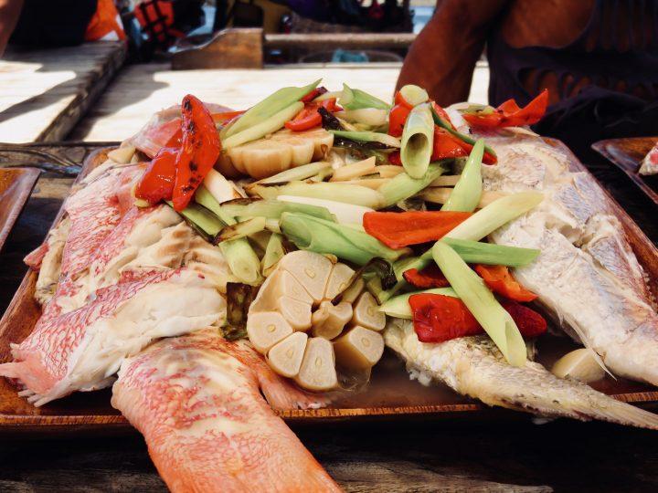 Fresh Fish Food TAO Experience Philippines Travel Blog