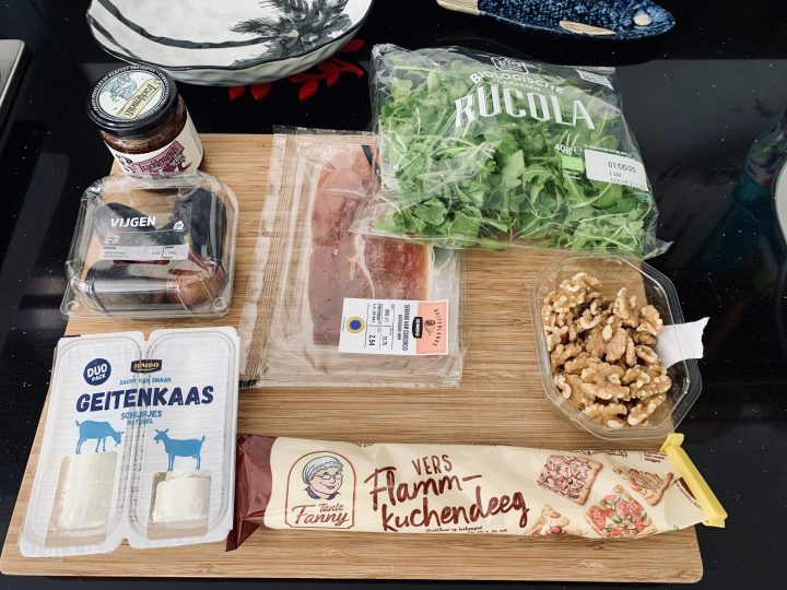 Ingredients Flammkuchen Food; Food Blog Recipes and Inspirations