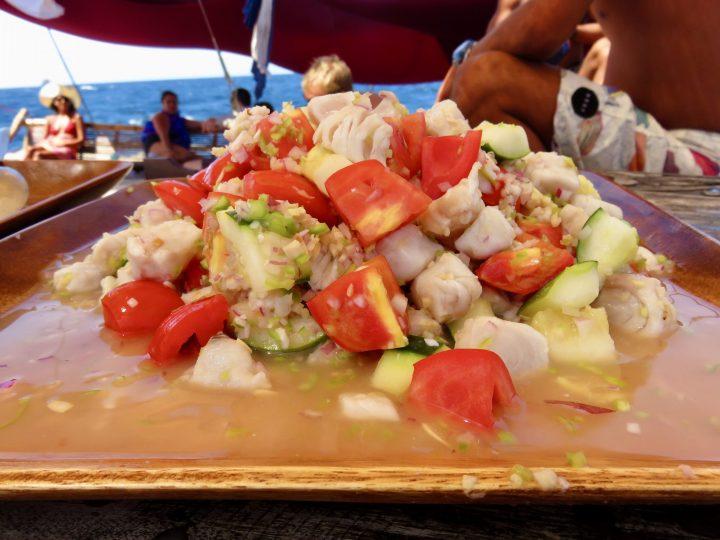 Kinilaw Food TAO Experience Philippines Travel Blog