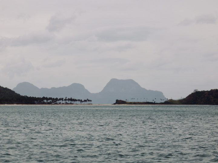 Skyline from Nacpan Beach TAO Experience Philippines Travel Blog