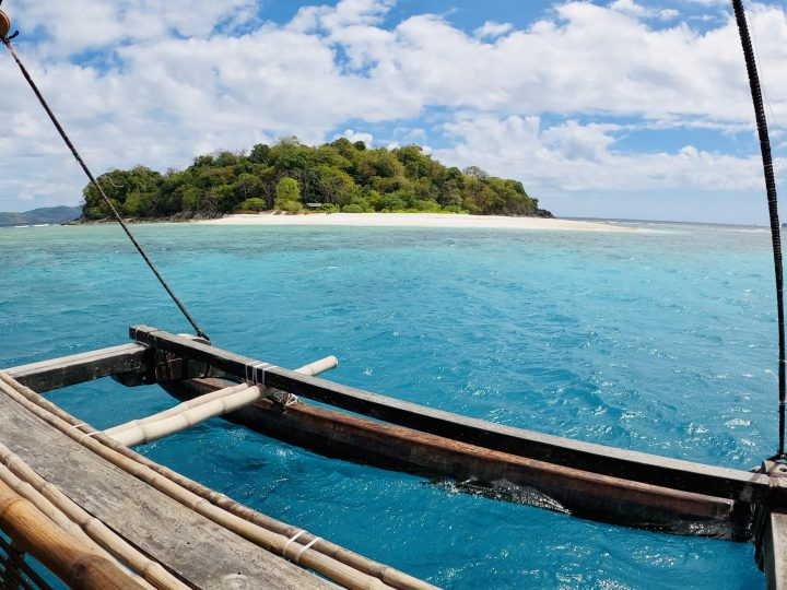 Tacling Island from Boat TAO Experience Philippines Travel Blog