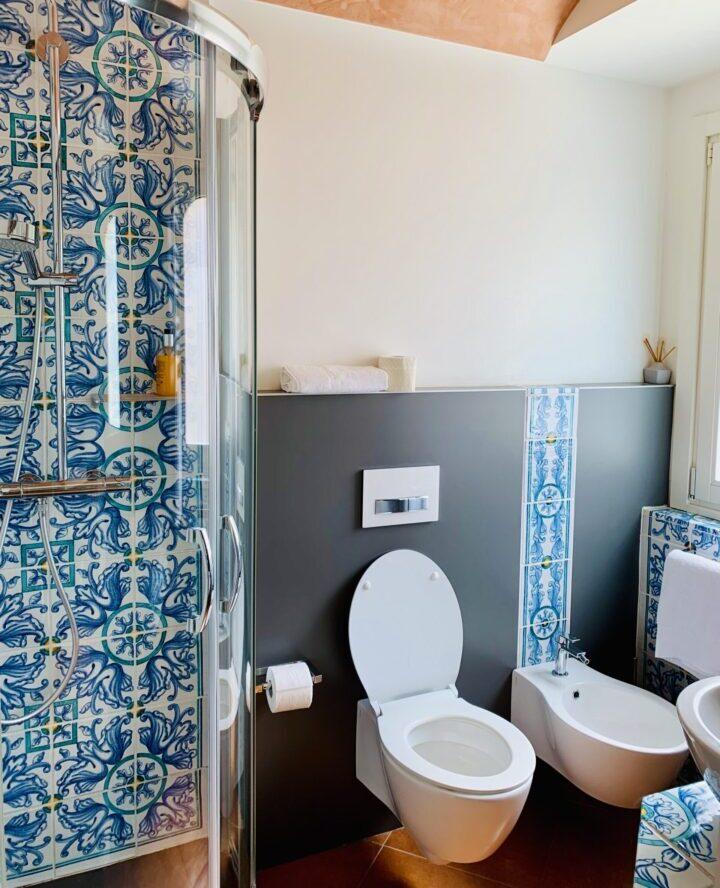 Bathroom Ceramic Casa Turrisi Taormina East Sicily Italy Travel Blog Inspirations