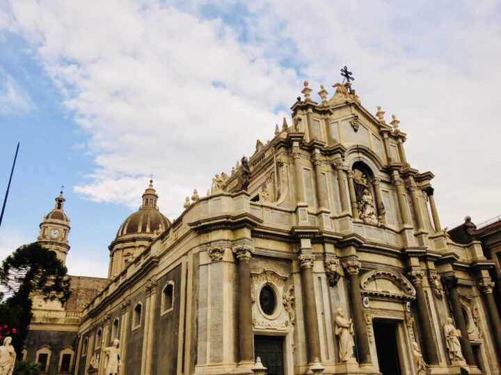 Cathedral Saint Agatha Catania East Sicily Italy Travel Blog Inspirations