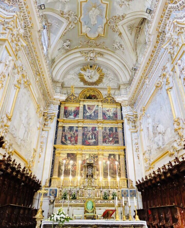 Duomo San Giorgio Inside Modica Southeast Sicily Italy Travel Blog