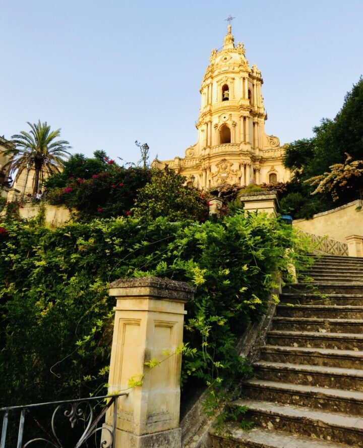 Duomo San Giorgio steps Modica Southeast Sicily Italy Travel Blog