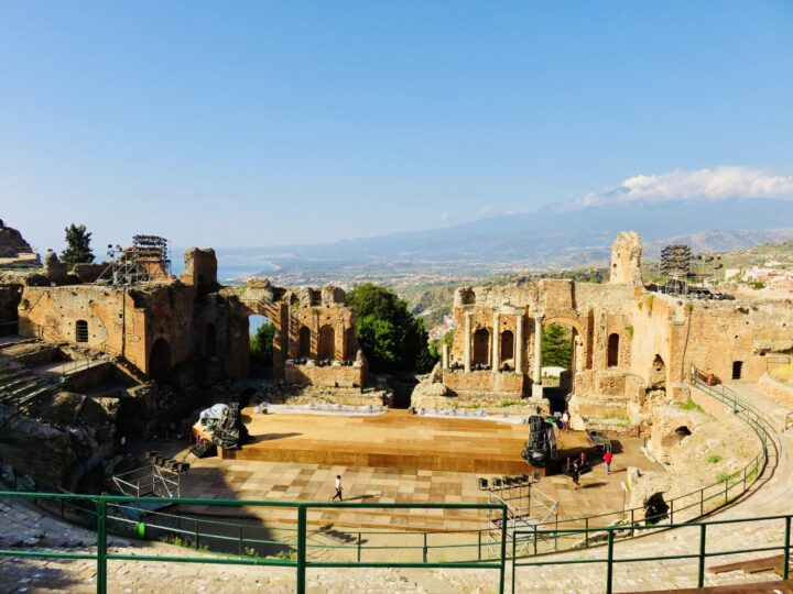 Greek Theater Taormina East Sicily Italy Travel Blog Inspirations