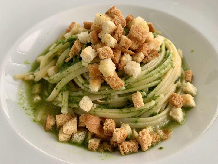 Pasta Acquapazza Santa Tecla Taormina East Sicily Italy Travel Blog Inspirations