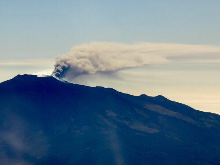 Smoke Volcano Etna East Sicily Italy Travel Blog Inspirations