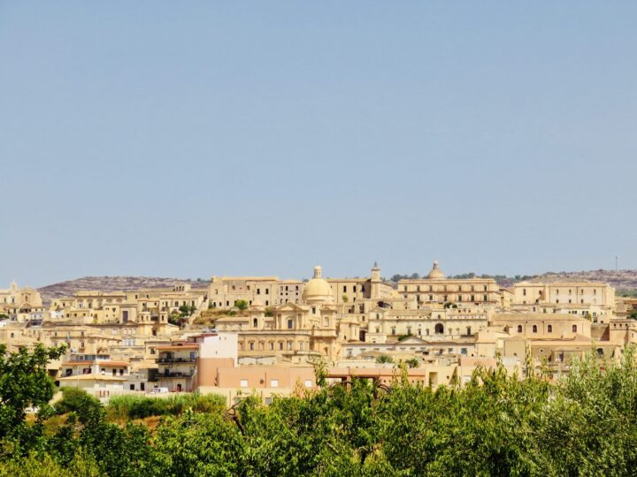 View over Noto Southeast Sicily Italy Travel Blog