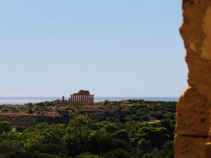Acropolis Selinunte South Sicily Italy Travel Blog