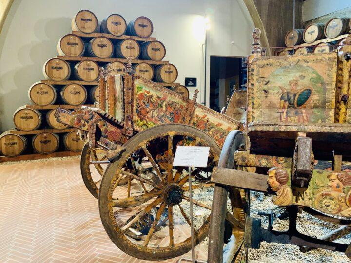 Barrels Marsala Wine Tasting Cantina Pellegrino West Sicily Italy Travel Blog