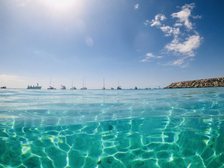 Cala Azzurra Swim Sailing Egadi Islands Favignana West Sicily Italy Travel Blog