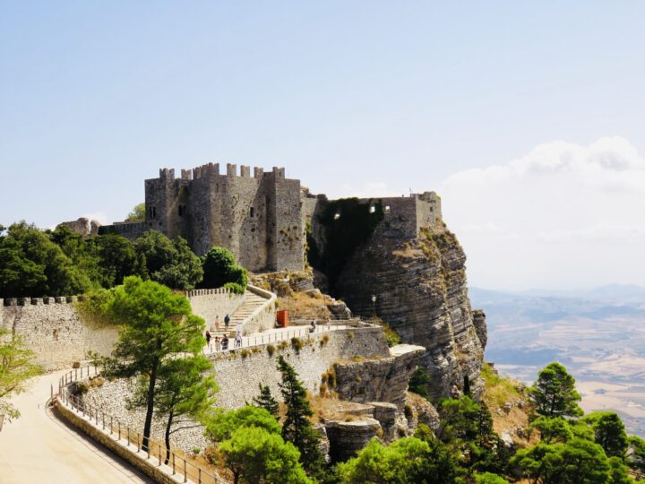 Castle of Venus Erice Northwest Italy Travel Blog