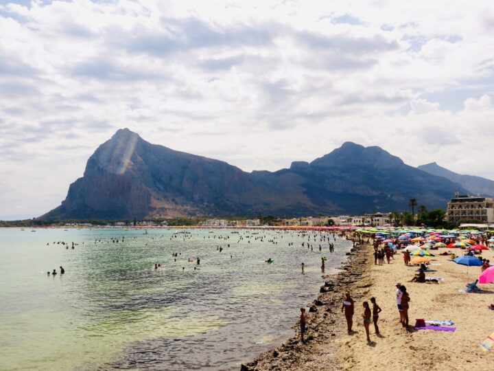 Corallina Beach San Vito Lo Capo Northwest Italy Travel Blog