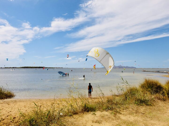 Kitesurfing Lo Stagnone West Sicily Italy Travel Blog