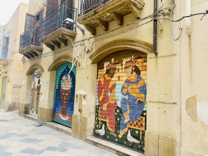 La Casbah paintings Mazara del Vallo South Sicily Italy Travel Blog