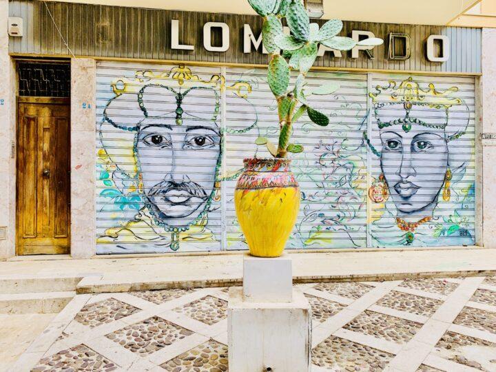 La Casbah wall paintings Mazara del Vallo South Sicily Italy Travel Blog