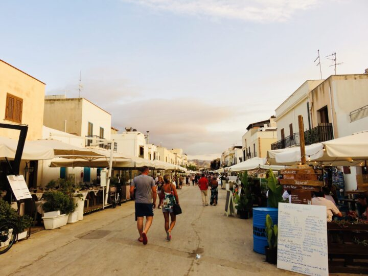 Main Street San Vito Lo Capo Northwest Italy Travel Blog