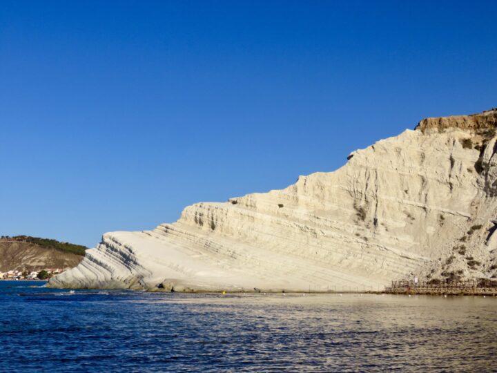 Rock formation Scala dei Turchi Realmonte South Sicily Italy Travel Blog