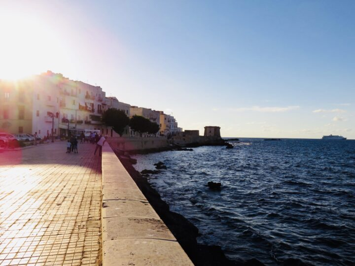 Sunset Walk around Trapani West Sicily Italy Travel Blog