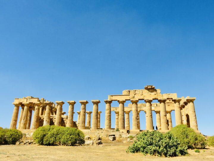 Temple E Selinunte South Sicily Italy Travel Blog