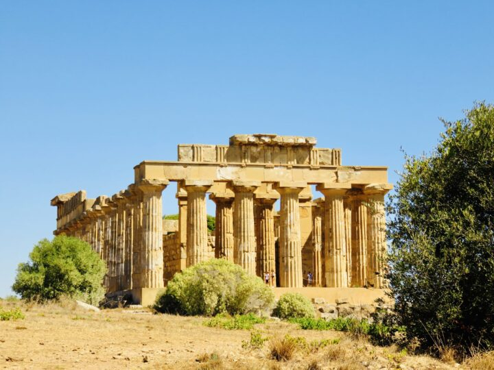 Temple E view Selinunte South Sicily Italy Travel Blog