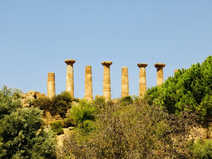 Temple of Hercules Valley of the Temples Agrigento South Sicily Italy Travel Blog