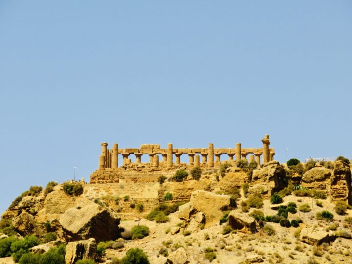 Temple of Juno Valley of the Temples Agrigento South Sicily Italy Travel Blog