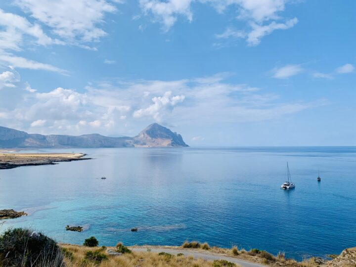 View Bue Marino San Vito Lo Capo Northwest Italy Travel Blog