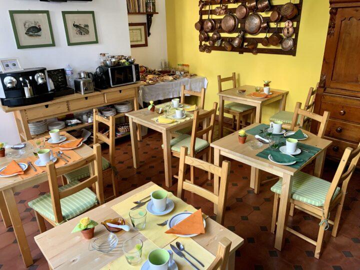 Breakfast at B&B Lirma Cefalú Tyrrhenian Coast North Sicily Italy Travel Blog