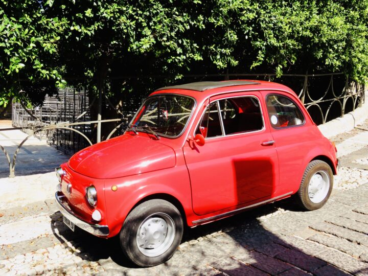 Fiat 500 old one Tips Sicily Italy Travel Blog