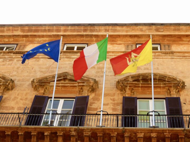 Flags Sicily Route for 2-3 weeks Sicily Italy Travel Blog