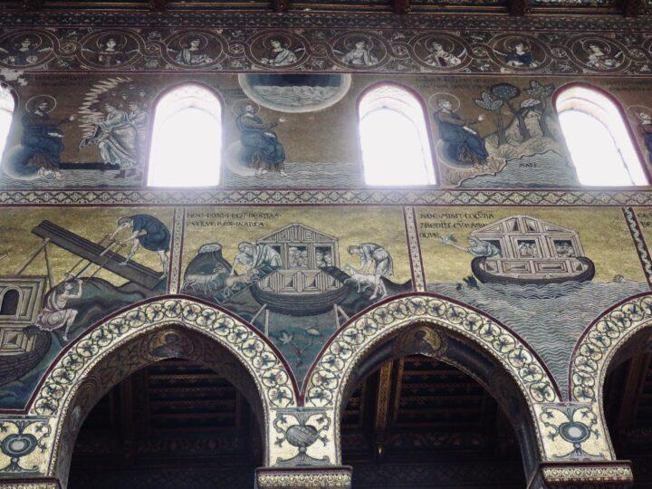 Mosaic Cattedrale di Monreale Monreale Palermo Region Sicily Italy Travel Blog