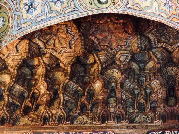 Muqarnas Capella Palatina Palermo Palermo Region Sicily Italy Travel Blog
