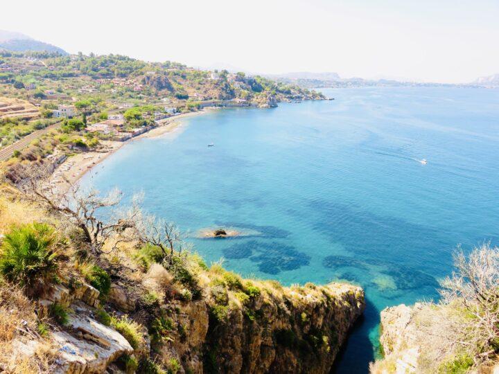 On route Tyrrhenian Coast North Sicily Italy Travel Blog
