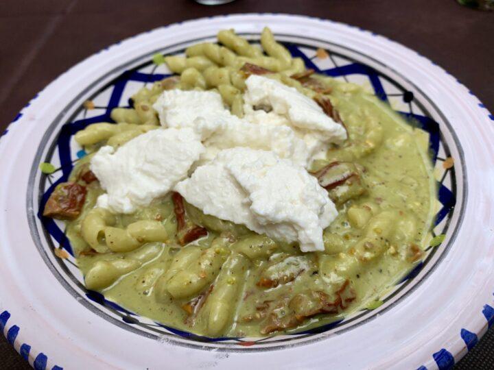 Pasta Osteria Pepers Pub Monreale Palermo Region Sicily Italy Travel Blog