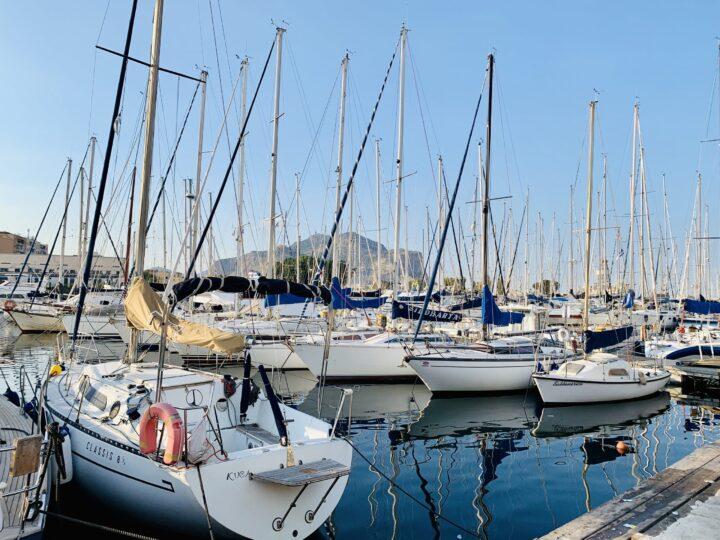 Porticciolo dell Cala Harbor Palermo Palermo Palermo Region Sicily Italy Travel Blog