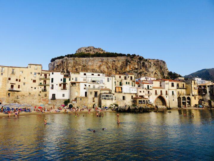 Public Beach Cefalú Tyrrhenian Coast North Sicily Italy Travel Blog
