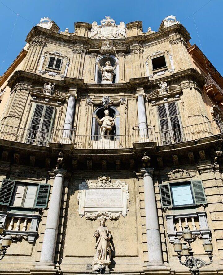 Quattro Canti Palermo Palermo Region Sicily Italy Travel Blog