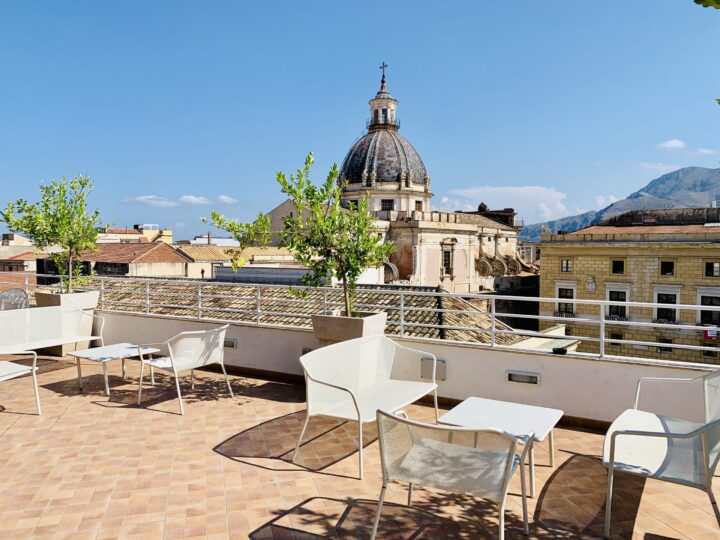 Rooftop B&B Hotel Palermo Palermo Region Sicily Italy Travel Blog
