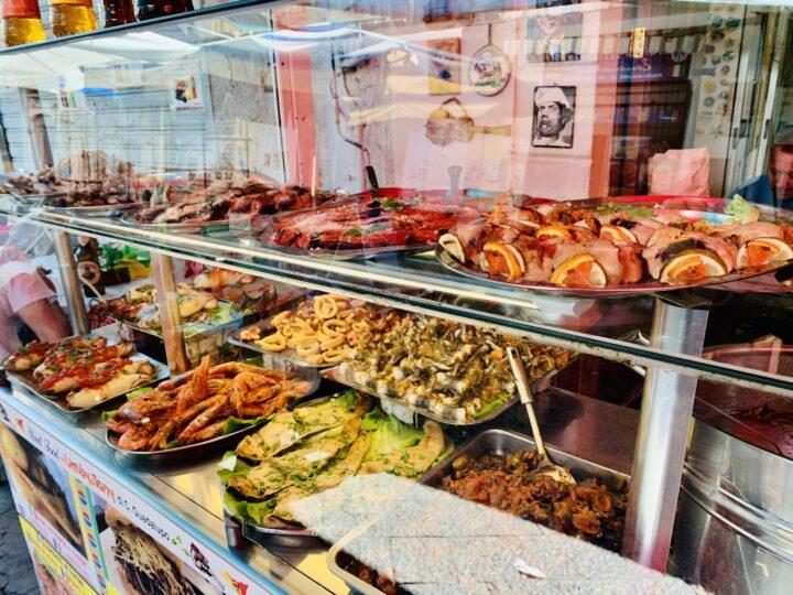 Street Food Palermo Palermo Region Sicily Italy Travel Blog