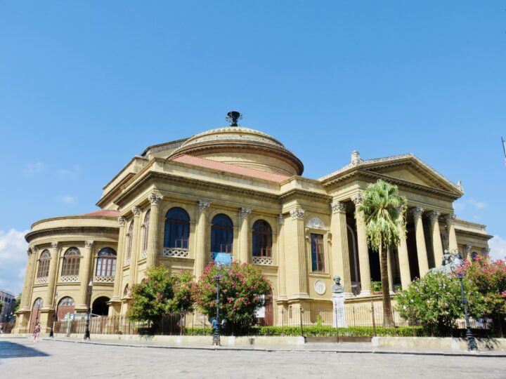 Teatro Massimo Palermo Palermo Region Sicily Italy Travel Blog