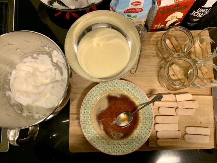 Work in process Tiramisu with Marsala dessert Inspirtions Recipe Food Blog